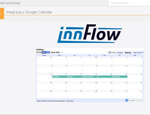 InnFlow integruje platformę WEBCON BPS z kalendarzem Google